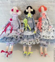 Купить Тильда шебби шик - рыжий, кукла в подарок, куклы и игрушки, кукла интерьерная