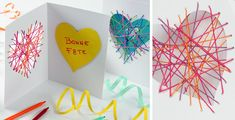 fabriquer un cadeau facile pour la fête des mères Diy, Easy Gifts, Mother's Day Diy, First Mothers Day Gifts, Happy Name Day, Father's Day, Index Cards, Bricolage, Do It Yourself