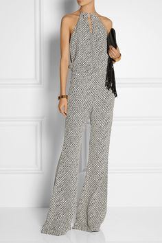 FINDS + Stone Cold Fox Louisiana printed crepe jumpsuit £275