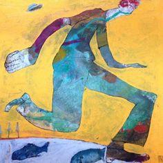 Ilya Volykhine's Paintings Are Darkly Comic