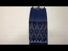 EP.79 สอนตัดผ้าถุงป้ายผ่าหน้าขาไม่ต้องสร้างแพทเทิร์น - YouTube Tie Dye Skirt, Skirts, Fashion, Moda, Fashion Styles, Skirt, Fashion Illustrations, Gowns