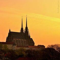 Brno - Česká republika Palaces, Czech Republic, Homeland, Prague, Castles, Monument Valley, Buildings, Europe, Vacation
