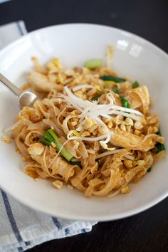 authentic Pad Thai Recipe The Coterie Blog by @Heather Creswell Mildenstein.