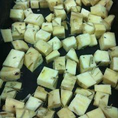 Crouton de batata doce Carol Morais