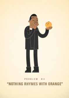 Jay Z's 99 problems, illustrated