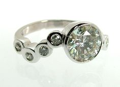 Diamond Bubble Ring...this is totally the one
