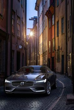 Volvo Concept Coupe in Stockholm