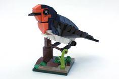 Welcome swallow Lego Tree, Lego Sculptures, Lego Animals, Lego Moc, Swallow, Legos, Little Boys, Creatures, Birds