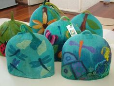 more felted hats                                                                                                                                                     More