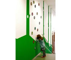 Kidtopia Playful child day-care centre in Amsterdam West | Interactive circulation space