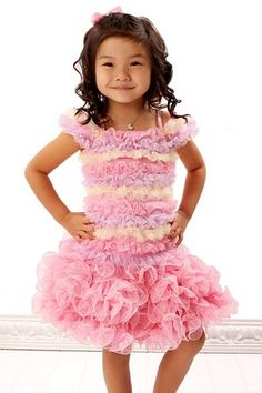 Twirl antique pink petal swirl skirt