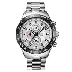 >> Click to Buy << Men's Sports Diving Stainless Steel Band Watches Analog Quartz Wrist Watch #Affiliate