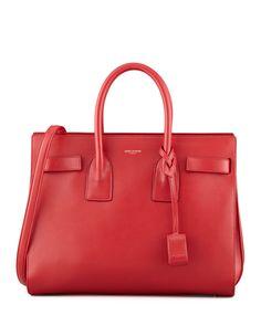 tag handbags - Yves Saint Laurent Monogram Small Zip-Around Satchel Bag, Bordeaux ...