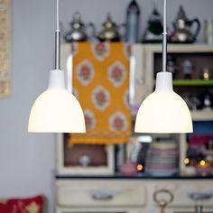 Buy Louis Poulsen Toldbod hanging light cm at Lights. Glass Pendant Light, Glass Pendants, Pendant Lamp, Pendant Lighting, Hanging Lights, Wall Lights, Ceiling Lights, Beautiful Interior Design, Beautiful Interiors