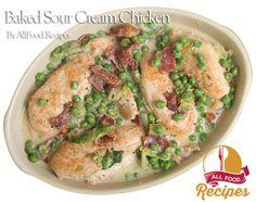 Baked Sour Cream Chicken