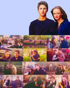 Bringing it back with Gilmore Girls! Rory and Jess. One of my favorite TV couples.