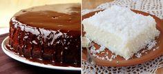 CompartilharSem glúten e sem lactose, mas com muito sabor Bolos gelado de coco e chocolate surpreendem pelo sabor e são ótimas dicas para quem adotou uma dieta sem glúten e