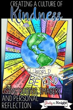 Creating a kindness culture in the classroom can be easy with this free download and blog post. Great to use at back to school time, when emotions are running high, when behavior is out of control, during counseling sessions, to build classroom community, or to reinforce the classroom community you've worked so hard to create! Classroom management problems will be a thing of the past when you use this freebie with your 4th, 5th, 6th, 7th, 8th, 9th, 10th, 11th, or 12th grade classroom…