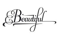 """beautiful"" #typography"