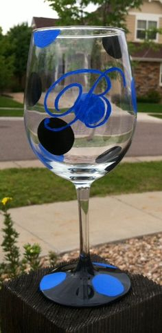 how to make monogrammed glasses - Google Search