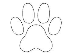 Cat Paw Print Pattern Use The Printable Outline For Crafts Creating Stencils Sbooking