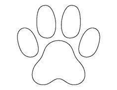 cat paw print | Cat Paw Prints clip art - vector clip art online ...