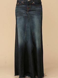 Dakota Long Skirt by True Religion