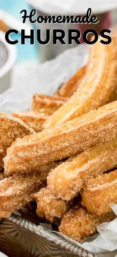 How to make churros! easy and delicious! spendwithpennies dessert churrorecipe friedfood homemadechurros churrosrecipe dessert rezepte 67 quick easy actually delicious dessert recipe ideas your fa Spring Desserts, Desserts For A Crowd, Thanksgiving Desserts, Lemon Desserts, Easy Desserts, Dessert Recipes, Easy Delicious Desserts, Dinner Recipes, Churro Rezept