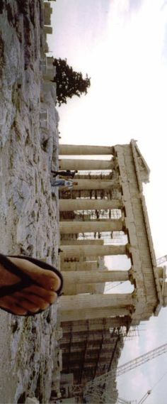 Havaianas @ the Parthenon, Greece
