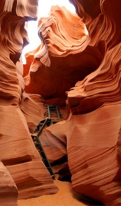 "Guide and tips to visiting the Lower Antelope Canyon in Arizona. Located in the Native American Indians land of the Navajo Nation, its Navajo name is Hasdestwazi, or ""spiral rock arches"" and you'll see just how magical it is on this photographic journey with us."