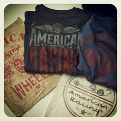 We have some awesome new American Racing Product in the works! Will be online soon! #AmericanRacing #tshirts #Wickedquick
