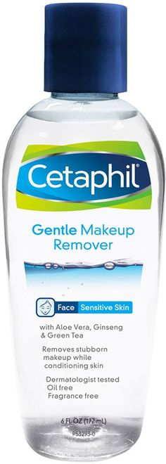Cetaphil Liquid Makeup Remover ($10.99) has arrived and I'm quite excited. Well, not really, ouch on that $11 buck price tag (Beauty 360 Gentle Eye Makeup is 11 oz and 7 bucks!). But yay, on something new to try for sensitive users. Last year, I got this
