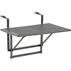 Balkonhängetisch grill  Table Balcon Bistrot Pliant Tablette Suspendue 64x45x87 CM Table ...