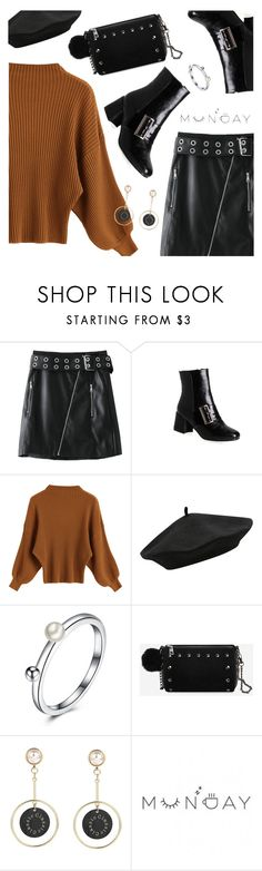 """""""Monday outfit"""" by dressedbyrose ❤ liked on Polyvore featuring M&Co, StreetStyle, ootd, polyvoreeditorial and gamiss"""