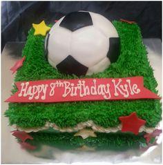 Kyle's Soccer Cake!