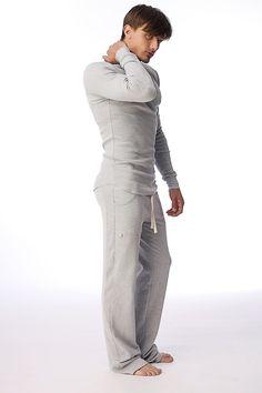 Track #Mens #Pant for #Yoga & #Pilates. Yoga pants for men | See more at - http://yoga-eco-clothing.com/product/mens-track-pants-yoga/