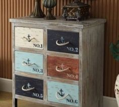 vintage furniture with images transfers - Google Search