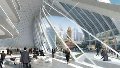 Proposal for Flinders Street Station - Zaha Hadid & BVN Architecture