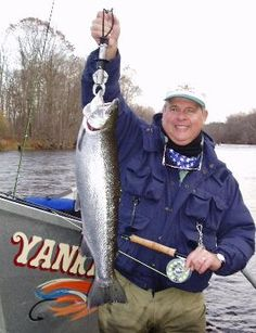 Yankee Fly and Tackle Fishing Guides showing off some nice fish. Wife Approved lodging.