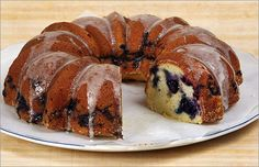 com blueberry bundt coffee cake with icing blueberry bundt coffee cake ...