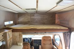 astro van camping interior - Google Search
