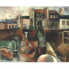 Jean Dufy - MONTMARTRE, ATELIER DE JEAN DUFY, oil on canvas