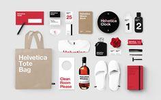Helvetica Hotel / Branding by Albert Son, via Behance Brand Identity Design, Corporate Design, Corporate Identity, Branding Design, Identity Branding, Hotel Branding, Brand Book, Brand Guidelines, Creating A Brand