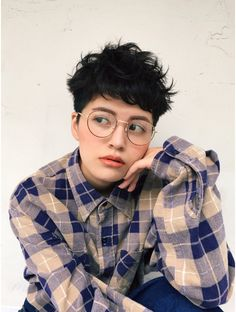 Today we have the most stylish 86 Cute Short Pixie Haircuts. Pixie haircut, of course, offers a lot of options for the hair of the ladies'… Continue Reading → Tomboy Haircut, Tomboy Hairstyles, Black Ponytail Hairstyles, Braided Ponytail, Curly Pixie Hairstyles, Hair Color And Cut, Cut My Hair, Girl Short Hair, Short Hair Cuts