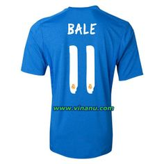 2013 2014 Real Madrid Away soccer jersey. 11 Bale