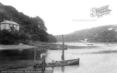 Photo of Looe, Trenant Point 1906 from Francis Frith Looe Cornwall, Holiday Fun, Black And White, Image, Black N White, Black White