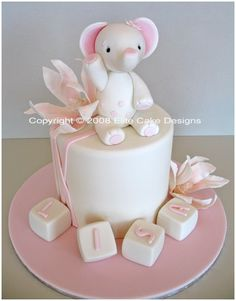 Little Elephant Baby Shower Cake, Baby Shower Cake Designs, Animal Baby Shower Cakes, Designer Specialty Cakes books-worth-reading