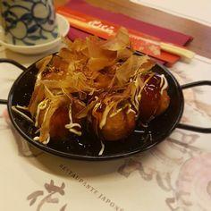 Desde hoy en #Hanakura puedes disfrutar de los deliciosos takoyakis