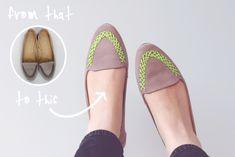 Mi Dulce de Melocoton: DIY: Zapatos reciclados