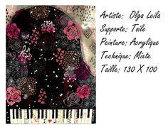 Piano Artiste Peintre Olga Leila